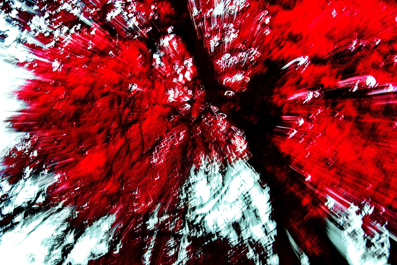 Steevens Hill - Red Life Explosion